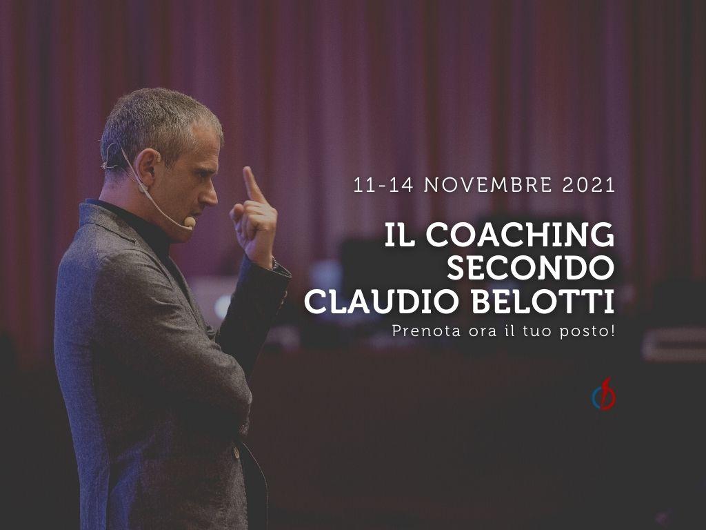 Il coaching secondo Claudio Belotti