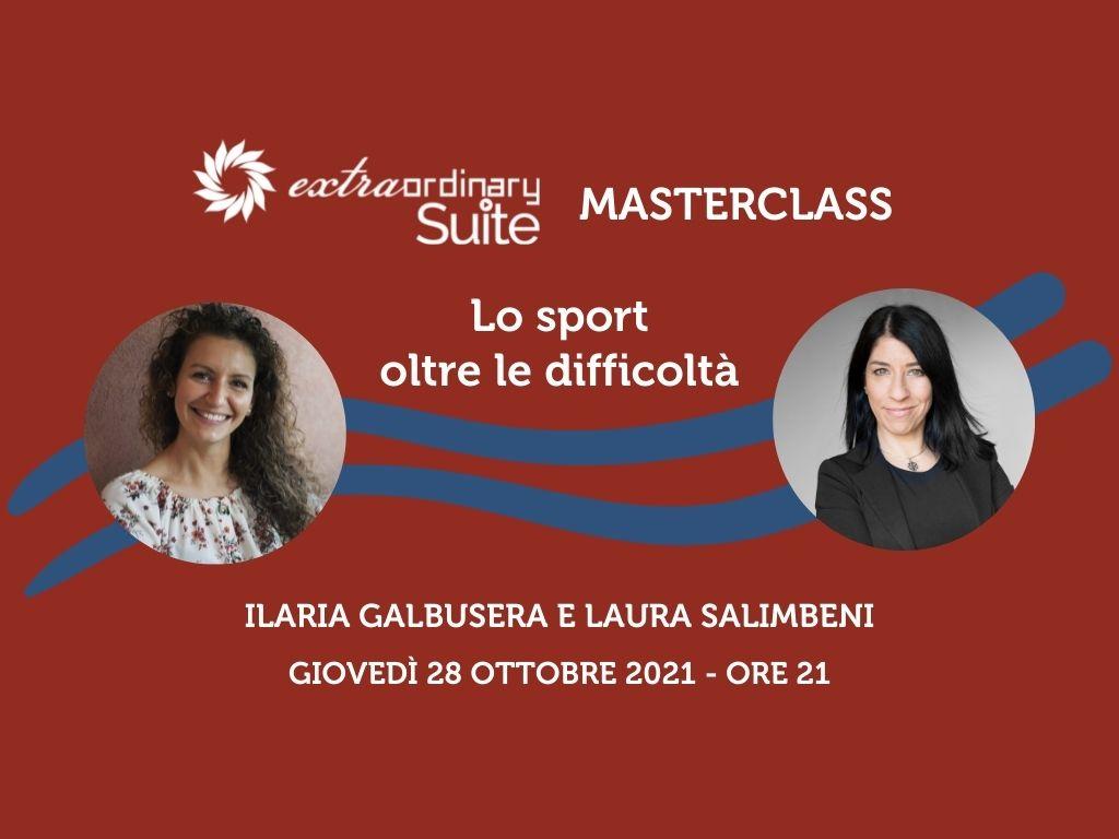 Masterclass Suite Extraordinary con Ilaria Galbusera e Laura Salimbeni