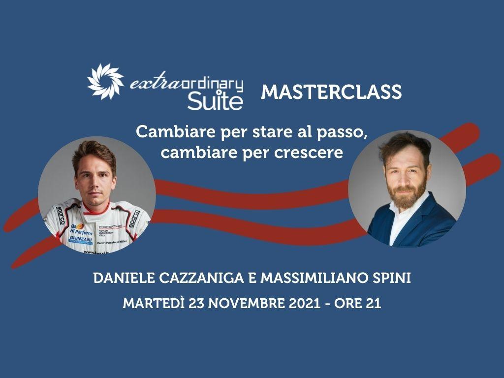 Masterclass Suite Extraordinary con Daniele Cazzaniga e Massimiliano Spini